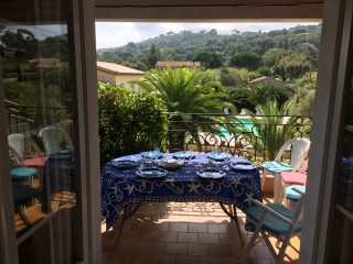 gallery Villa les 4 saisons saint tropez terrazza vista piscina vacanze casa affitto appartamento