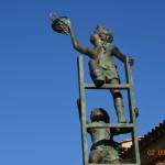 "Statua in bronzo "" Les petit enfants"""